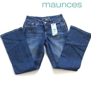 Maurices Tailor bootcut jeans Sz 5-6 R